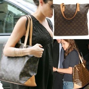💎Angelina Jolie💎Louis Vuitton zipper tote